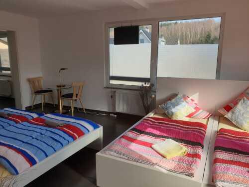 Apartment-Klassisch-Ensuite Dusche
