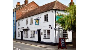 The pub is over 250 years old and steeped in history