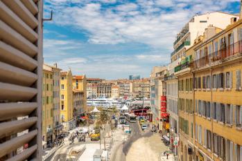Appartement Tropiques vue partielle Vieux Port