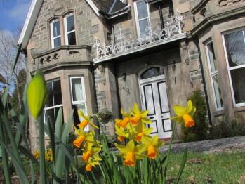 Springtime at Arden House