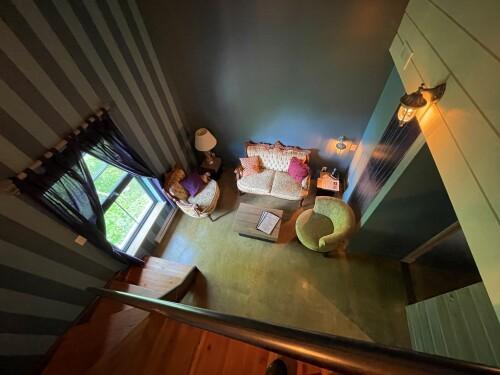 Suite Junior-King-Salle de bain et douche-Vue sur la rivière - Tarif de Base