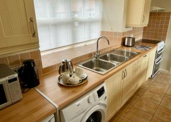 Bluebell Cottage kitchen area (self-catering)
