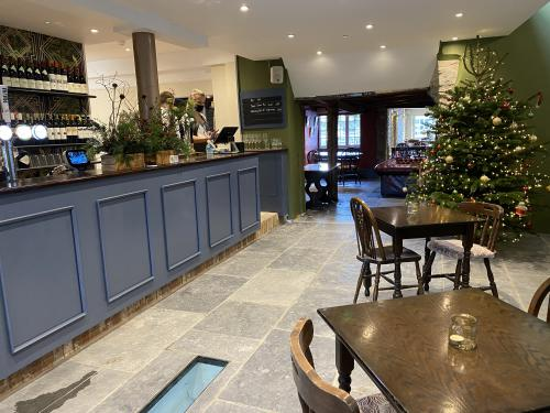 Our new bar area is a great place to eat, drink and chat with friends