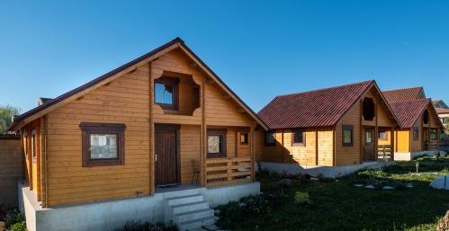 Cabaña de madera-De Lujo-Baño Privado-Vista al campo - Tarifa Base