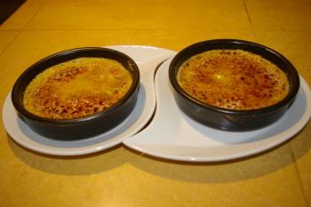 A la table d'hôtes : crème brûlée au foie gras