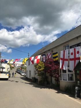 The beautiful village of Blackawton