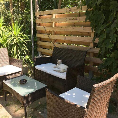 Suite double, extérieur privatif, ktichenette - Petits dejeuners inclus