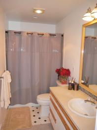 Fully Bath in the Master ensuite bathroom