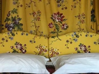Suite Rose calamine - baldaquin king size