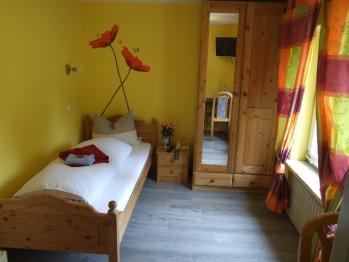 Einzelzimmer-Economy-Eigenes Badezimmer-Blick auf die Landschaft