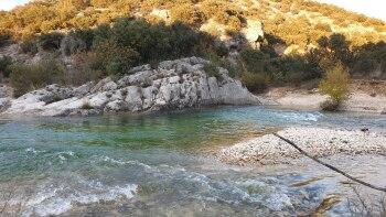 Rivière Ibie à Lagorce