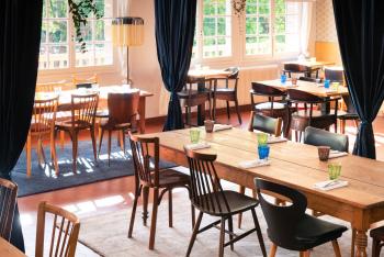 Salle du restaurant La Cascade à Clisson