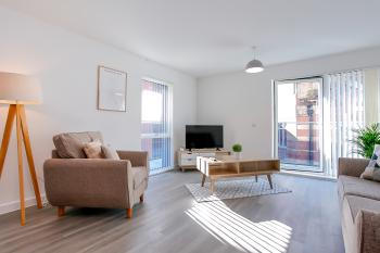 Hilltop Serviced Apartments - Northern Quarter - Lounge