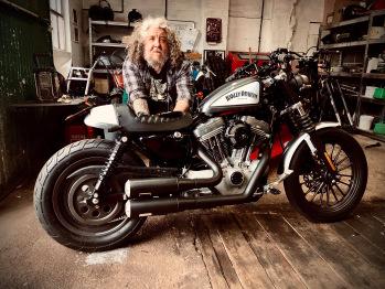 Motorcycle Workshop Downstairs