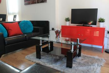 Snapos Luxury Serviced Apartments - Blonk Street - Living area