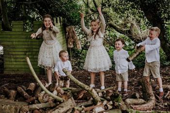 Children at Augill Castle