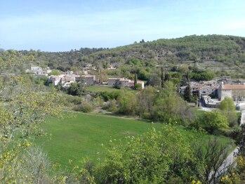 Village de Saint Maurice d'Ibie