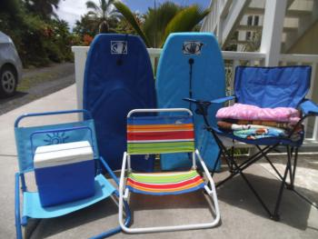 Free Beach Gear for Guests to Enjoy