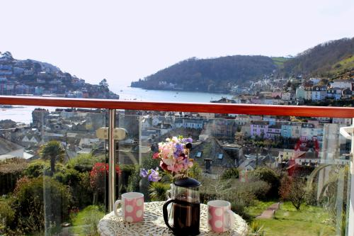 The balcony at The Lookout