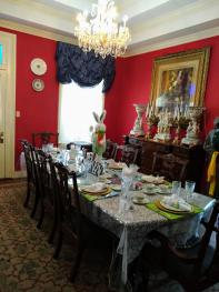 Dining room of The Claiborne House