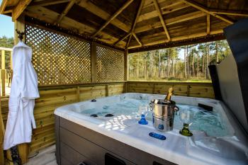 Stag lodge - Hot tub