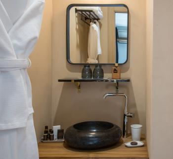 Chambre N°5 Salle de douche à l'italienne