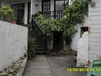 Back door entry to Restaurant