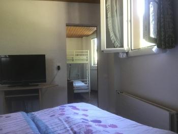 Familienzimmer mit Doppelstockbett für die Kids