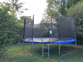 Le trampoline de la Ferme de Marpalu