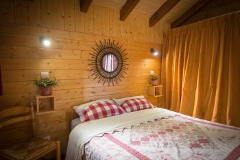 chambre rez de chaussée, lit double