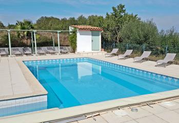 Grande piscine aux sels (5 x 10 m) sans chlore