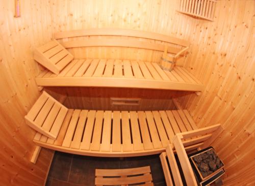 Sauna et Hammam ouvert de 8 h à 21 h