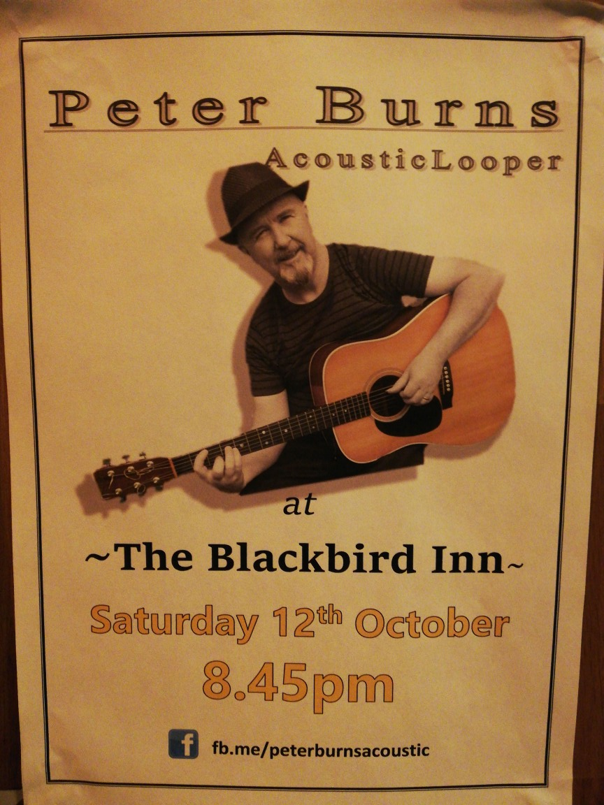 Peter Burns - Music Saturday 12th Oct
