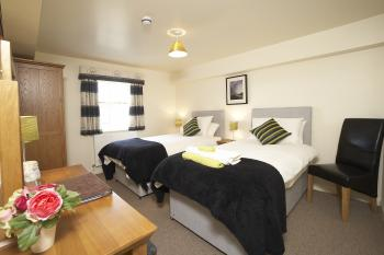 Hutton Room | Double or Twin En-Suite (shower) | 1st Floor