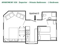 Apartment 6 - Layout