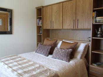 Compact double room with ensuite facilities