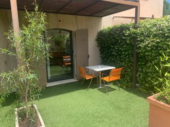 Jardin privé chambre 4