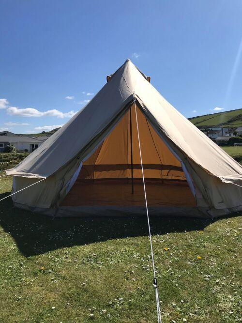Tent-Communal washroom facilities-5m Bell Tent