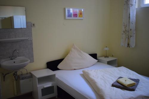 Einzelzimmer-Economy-Gemeinsames Badezimmer-Strassenblick - Standardpreis