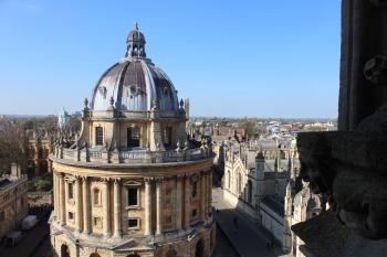 Radcliffe Camera from University Church Oxford