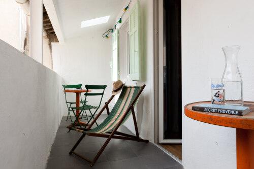Double-King-Salle de bain privée séparée-Terrasse-TERRASSE