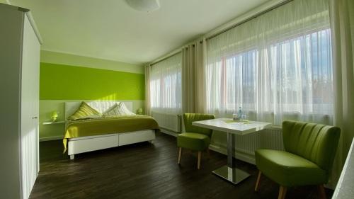Doppelzimmer-Komfort-Ensuite Dusche