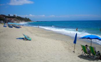 Strandabschnitt Tropea © Ferienwohnung Casa Belle Vacanze