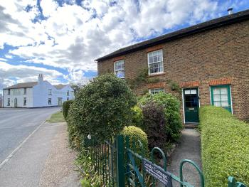Cottages and the village pub