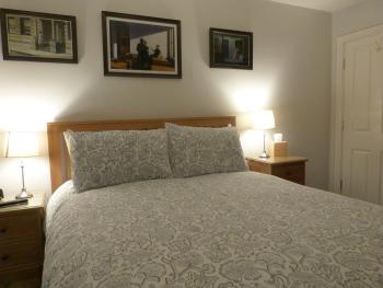 King size bed in Bedroom 3