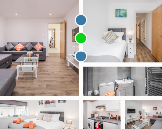 Watford Central Apartment  -  Modernview Serviced Accommodation - Beautifully decorated Serviced Apartment overview