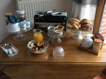 les charmes du petit pré-petit déjeuner