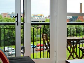 Balconies featuring Classic Belfast Views
