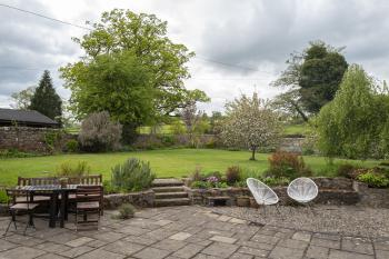 Terrace and cottage garden reserved for your use