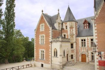 Château du Clos Lucé, à 10mn à pied